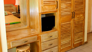 Standard Suite - Cabinet Space